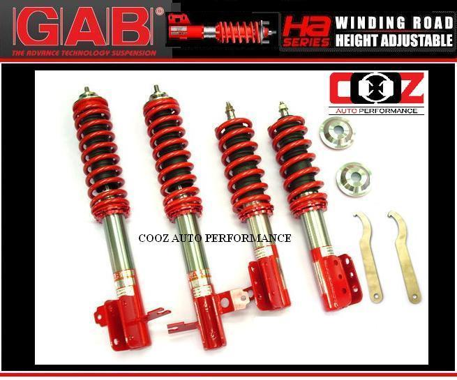GAB HEIGHT ADJUSTABLE ABSORBER (HA) HONDA CIVIC EF/SH4 09-07