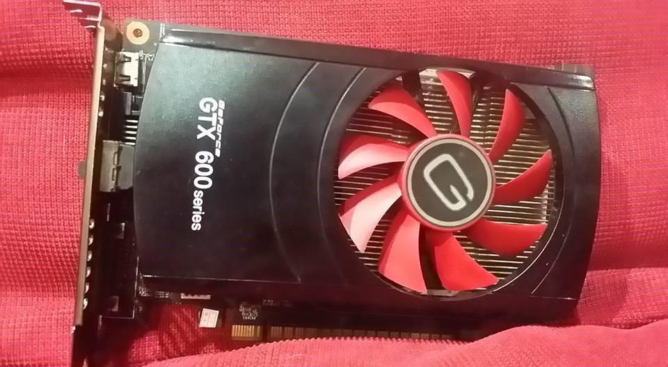 Gainward GTX650 1gb DDR5