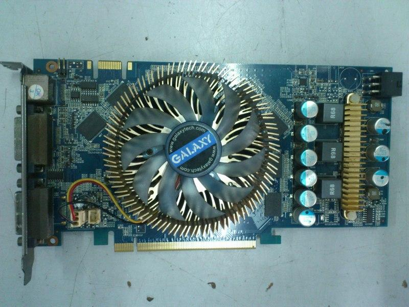 Galaxy GeForce 9600GT 512MB DDR3 PCI-E Graphic Card 301215