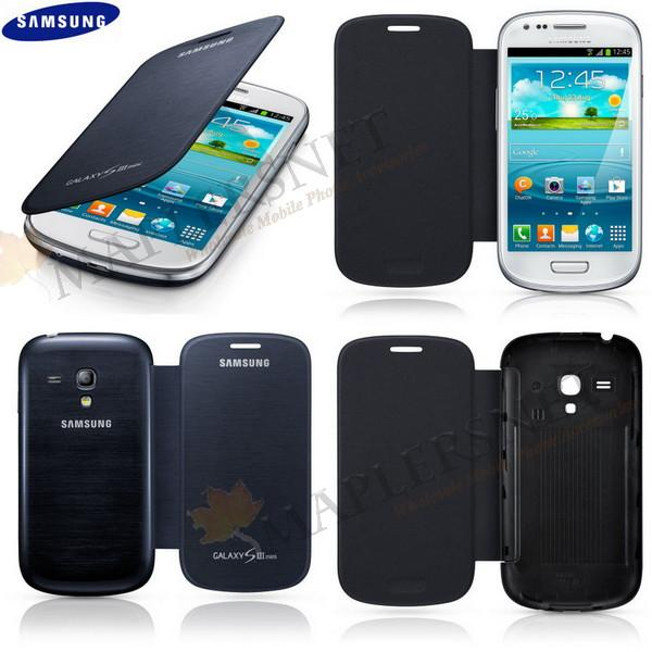 Galaxy Quattro Mega 6.3 S4 Grand S2 S3 Mini i8190 Note 2 Flip Cover C