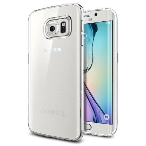 Galaxy S6 Edge Plus Case, Spigen Liquid Crystal - Clear