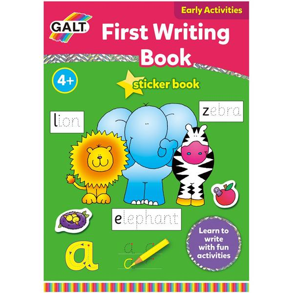 Galt Early Activities Sticker Book - First Writing Book (4+ years)