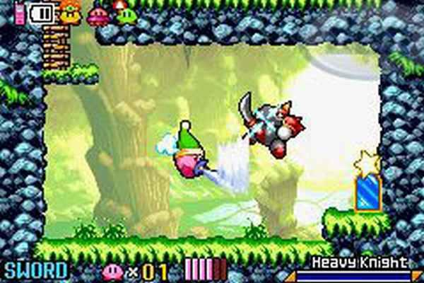 Gameboy Advance - Kirby - Nightmare In Dreamland
