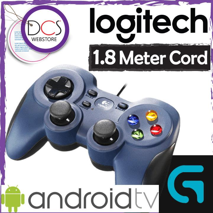 [FOR GAMERs] Logitech F310 1.8meter Cord Gamepad work with Android TV