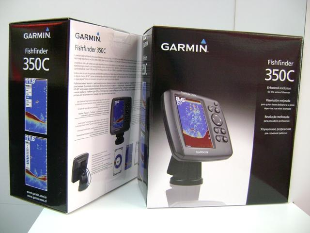 Garmin Fishfinder 350c with 5-inch WQVGA Screen