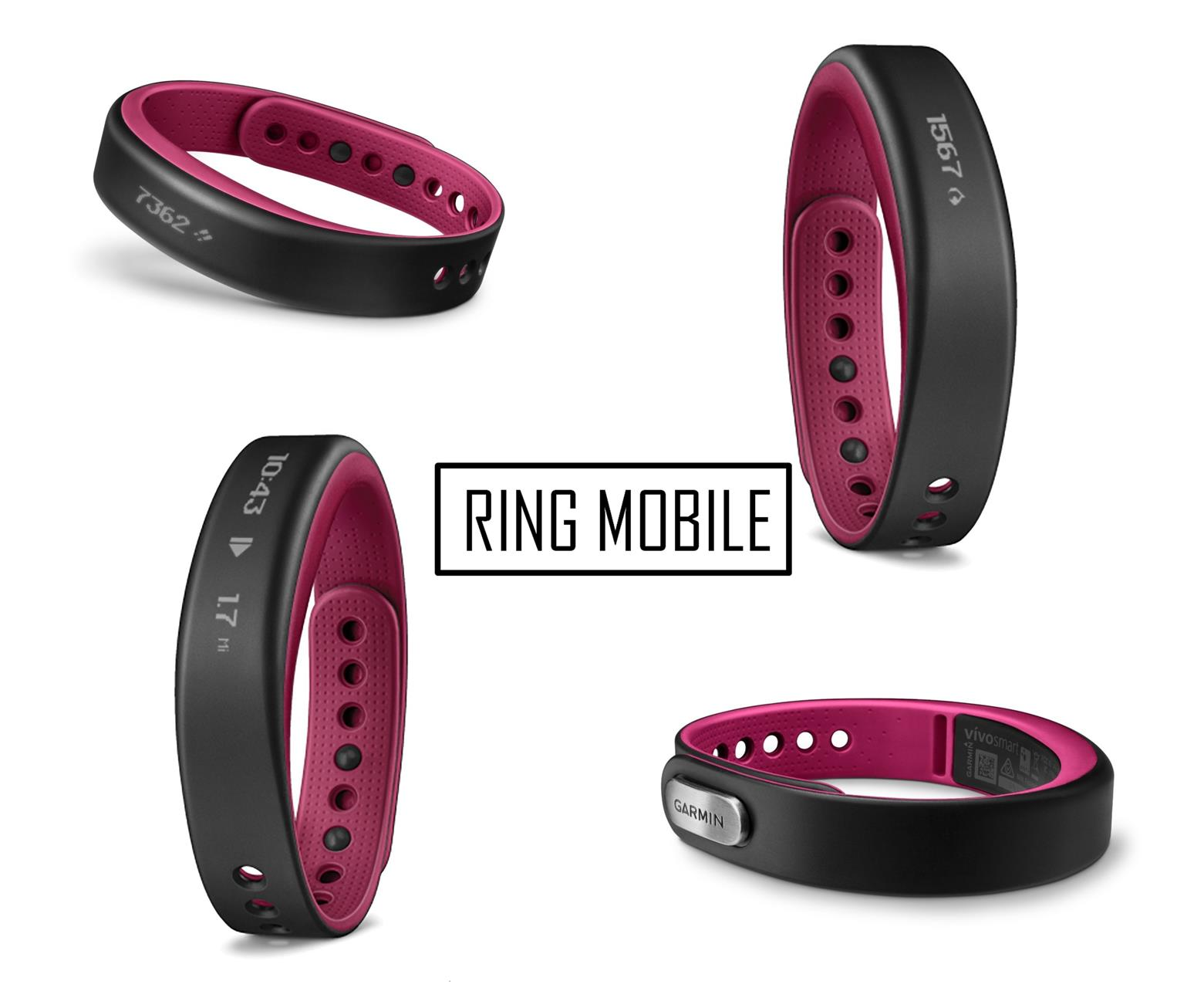 Garmin VivoSmart Activity Tracker - Large / Berry - Original