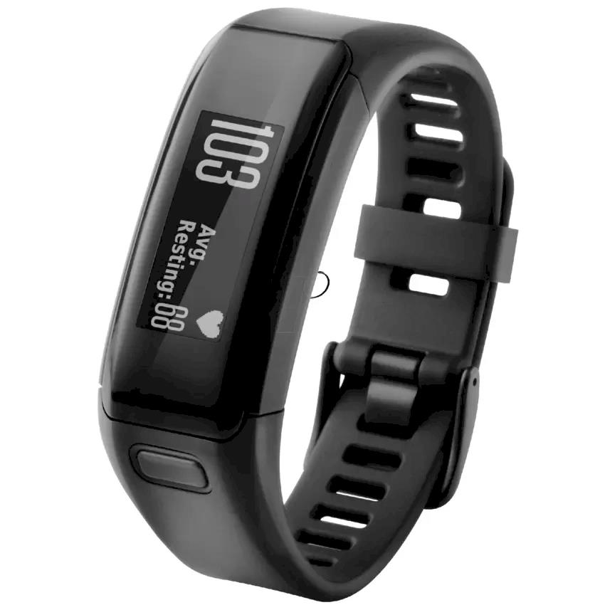 GARMIN Vivosmart HR Regular Wrist-based Heart Rate Activiry Tracker