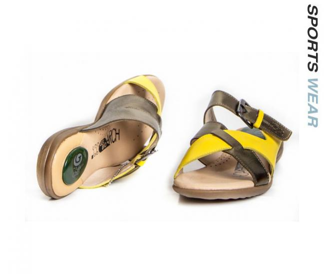 Gatti Vani Anion Sandal - Olive / LT.Yellow -SQ_1512-109-33