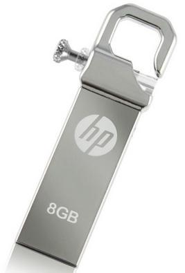 GDT. HP FLASH DRIVE USB2.0 V250W 8GB HPFD250W-08 SILVER