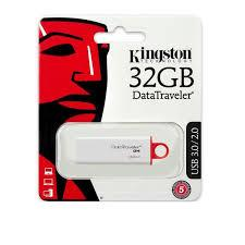 GDT. KINGSTON FLASH DRIVE USB3.0 DTI G4 32GB DTIG4/32GBFR RED