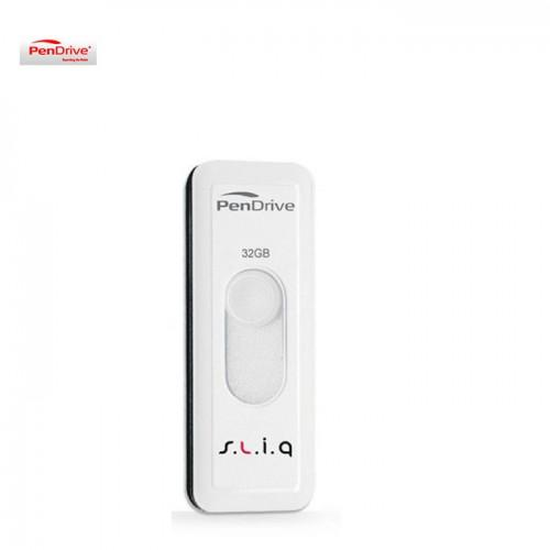 GDT. PENDRIVE FLASH DRIVE USB2.0 SLIQ 32GB M2PDC32GS WHITE