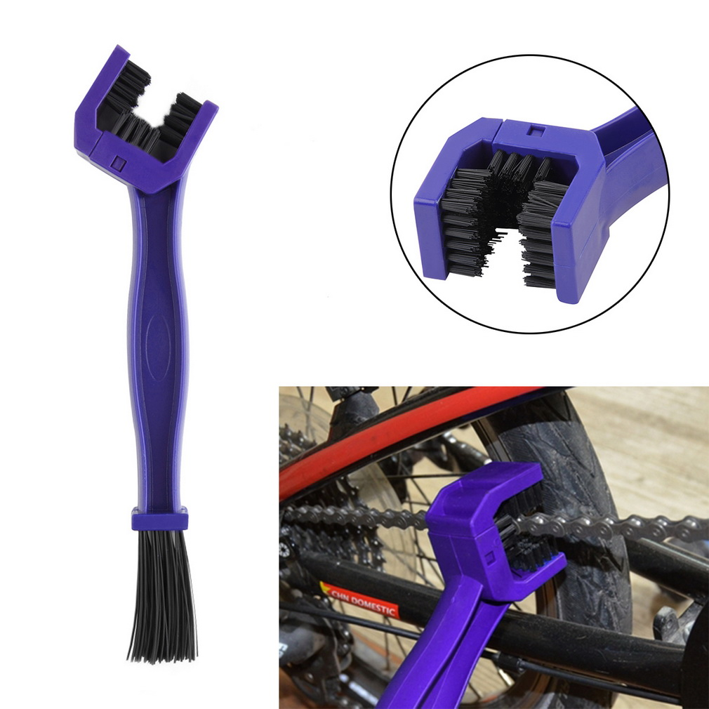Gear and Chain Cleaning Brush Cleaner Tool For Motorcycle Cycling Bike..
