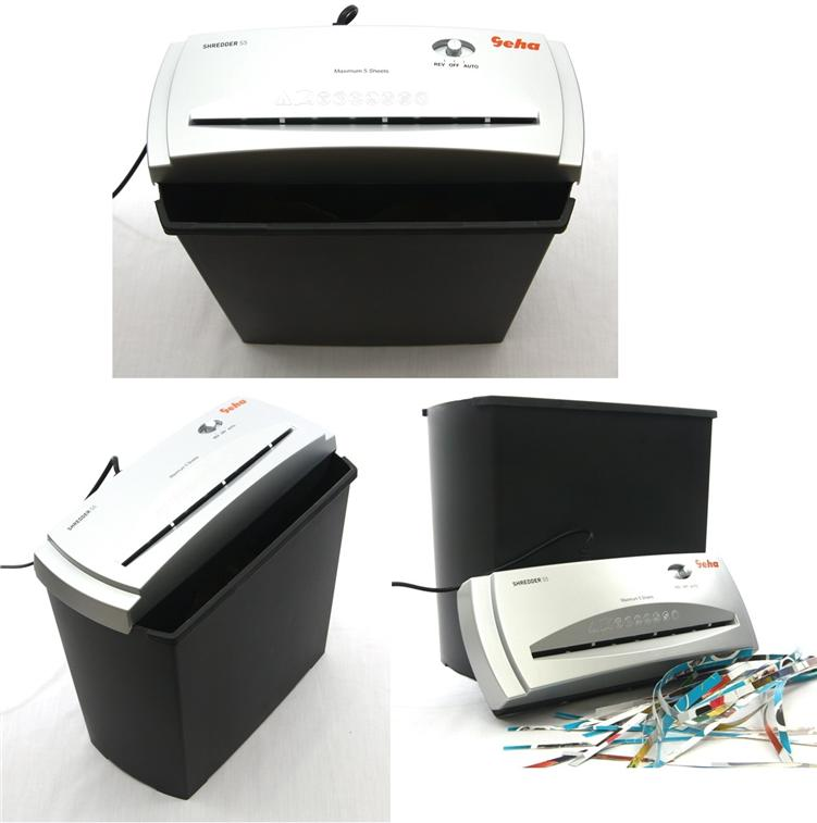 Geha Home & Office Paper Shredder S5 Paper Cutting Machine