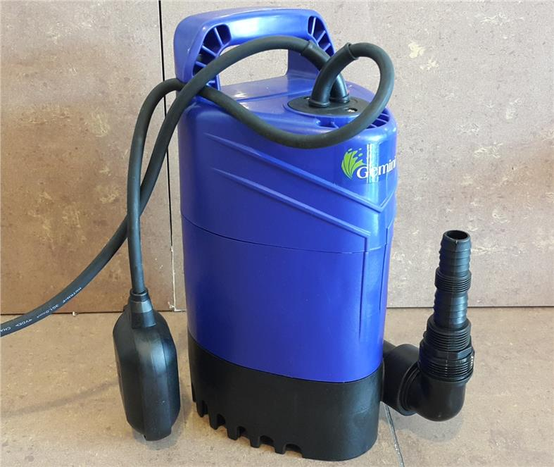 GEMINI SUBMERSIBLE PUMP 740W, 9M HEAD, 250L/MIN ES420 ID116961