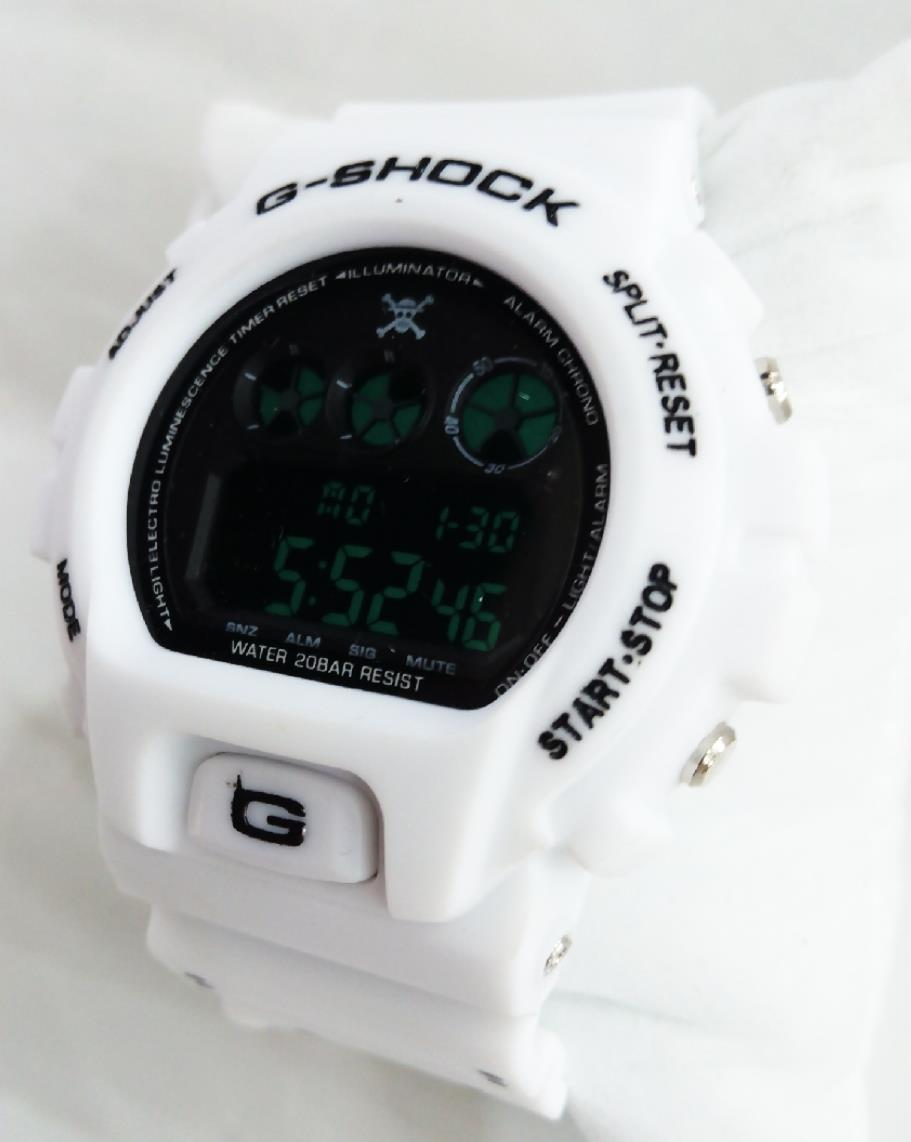 General GShock ladies Sport watch-YGS-16025-white