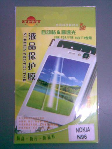New generic Reusable Screen Protector for Nokia N96