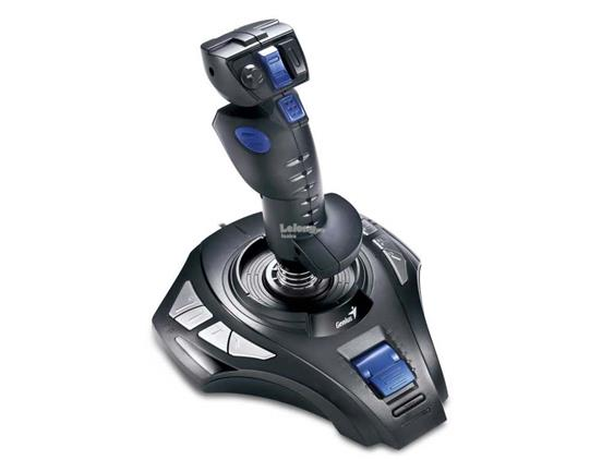 Genius Metalstrike 3D Turbo Function USB Joystick for pc