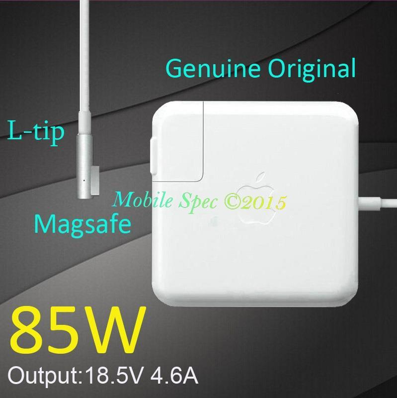 Genuine Apple 85W MagSafe Power Adapter Charger A1343 MacBook Pro