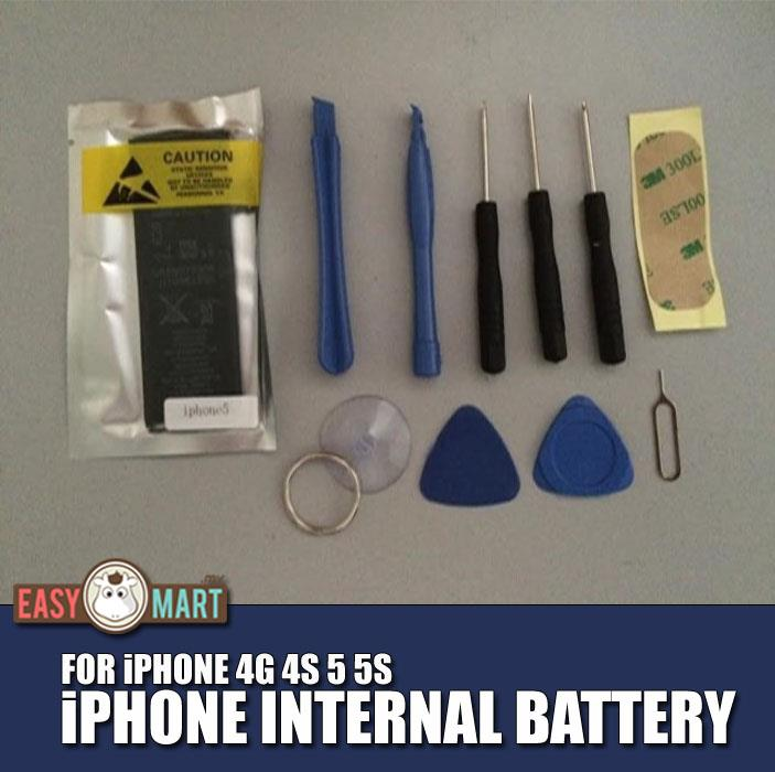 Genuine Apple iPhone 4G 4S 5 5S 6S Replacement Internal Battery +Tools