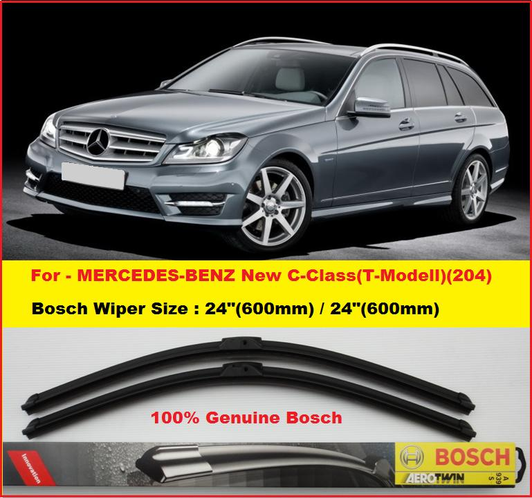Genuine bosch wiper blade for merc end 1 14 2018 10 32 am for Mercedes benz c300 wiper blades