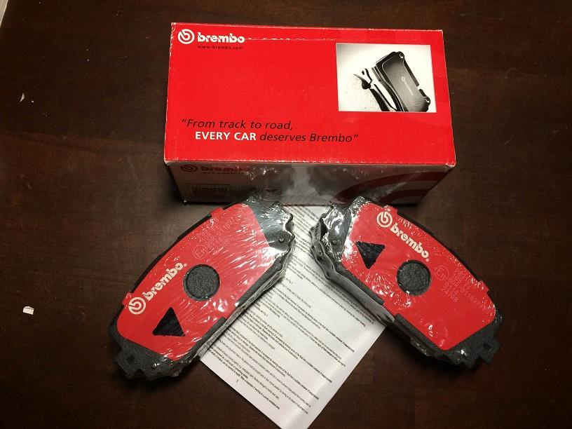 GENUINE BREMBO FRONT BRAKE PAD for TOYOTA VIOS G/S SPEC (NCP93/NCP150)