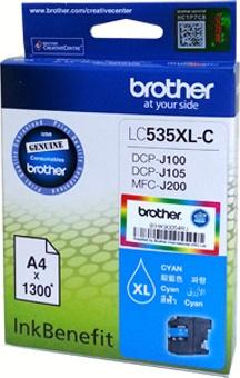 GENUINE BROTHER LC-535XL CYAN INK LC535 535 J100 J105 J200