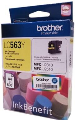GENUINE BROTHER LC-563Y YELLOW INK LC563 563 2310 2510
