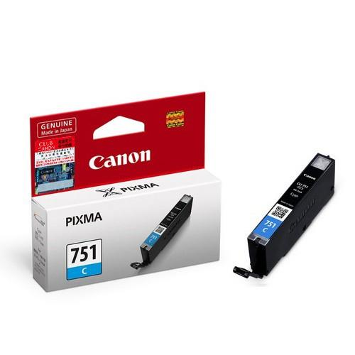 Genuine Canon CLI-751 (Cyan) Ink Cartridge 5470/6370/7270/727