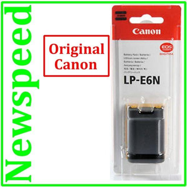 Genuine Canon LP-E6N Battery for EOS 7D MK 2 II  7D 60D 70D 6D LPE6
