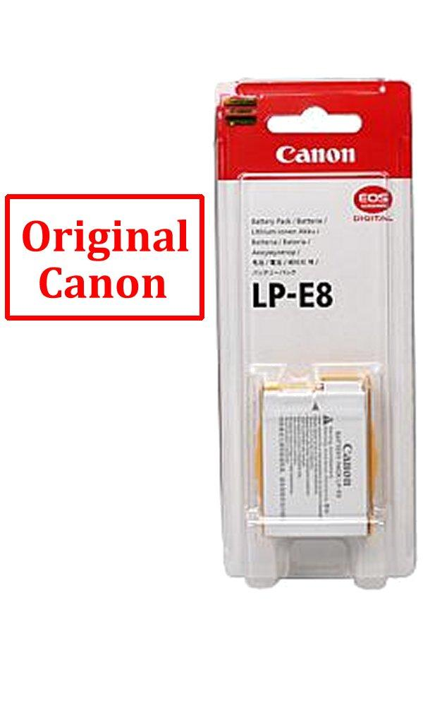 New Genuine Canon LP-E8 Battery Pack for Canon 550D 600D 650D 700D