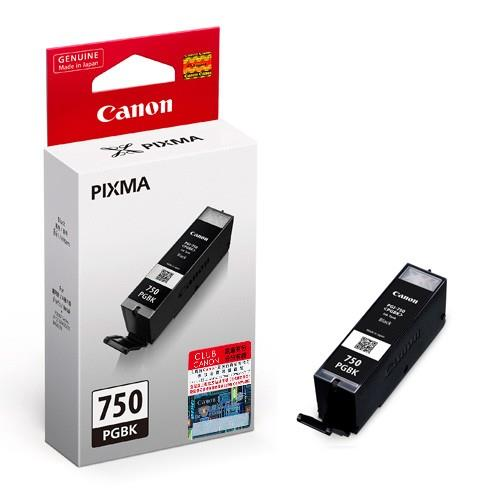 Genuine Canon PGI-750 (Black) Ink Cartridge 5470/6370/7270/727
