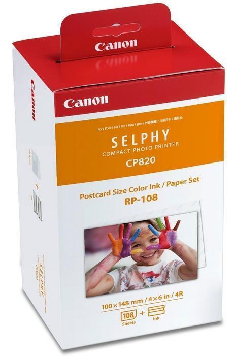 GENUINE CANON RP-108 SELPHY CP INK & PAPER**NEW**SEALED BOX