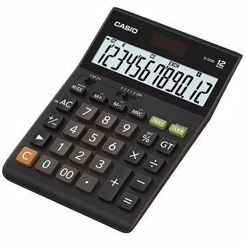 Genuine Casio D-120B Desk Top Type GST Ready Calculator Pre-set 6%