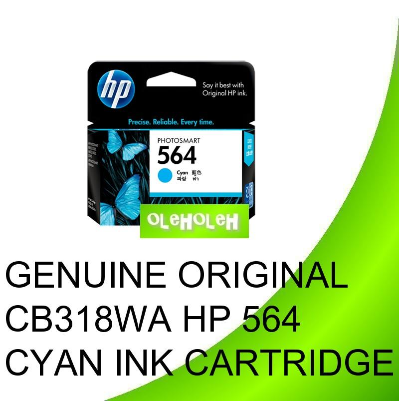 Genuine CB318WA CB319WA CB320WA HP 564 Cyan Magenta Yellow Ink
