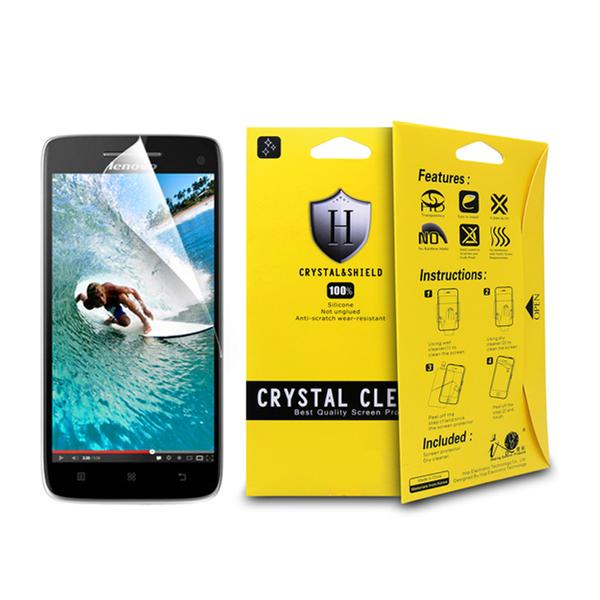 Genuine Crystal Clear Screen Protector For Lenovo A396 Transparent