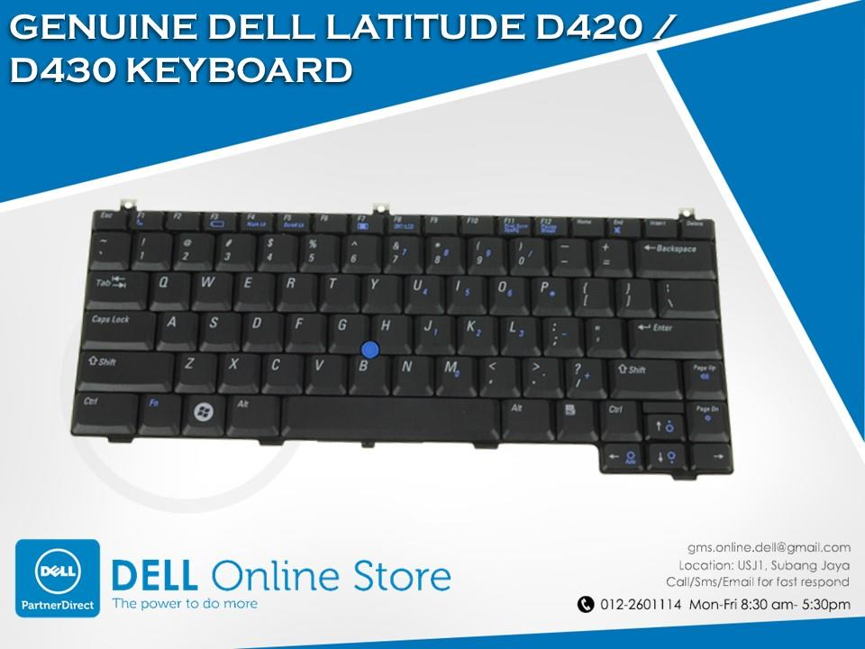GENUINE DELL LATITUDE D420 / D430 KEYBOARD