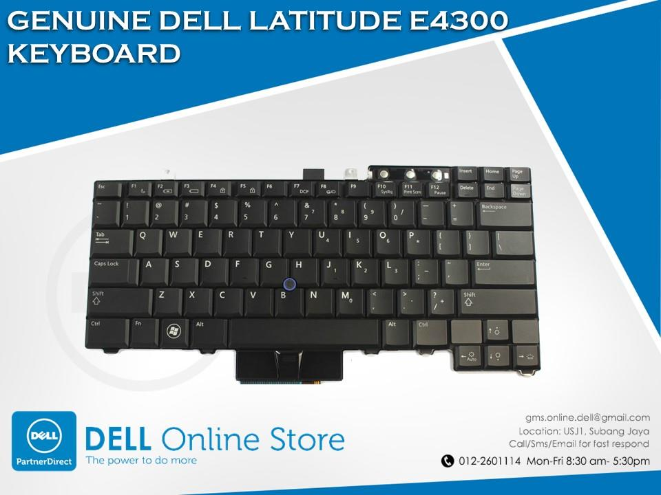 GENUINE DELL LATITUDE E4300 KEYBOARD