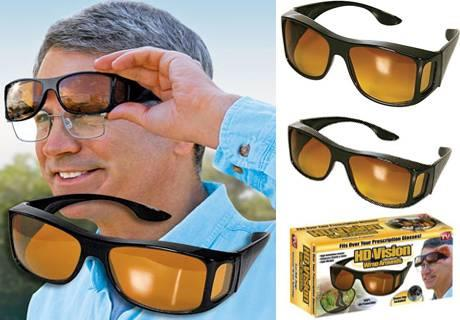 New Genuine HD Vision Wrap Arounds Sunglasses