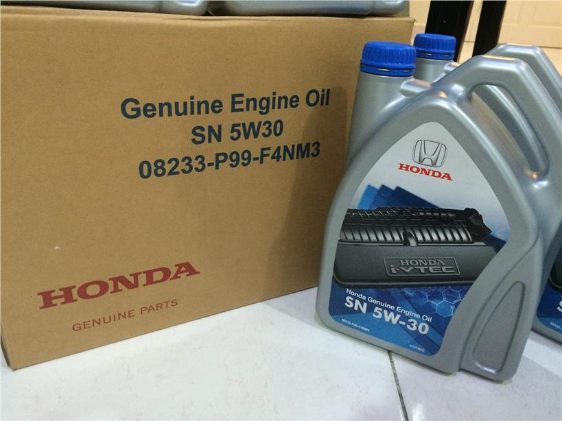 Genuine Honda Engine Oil 5w 30 Semi End 5 22 2017 10 15 Pm