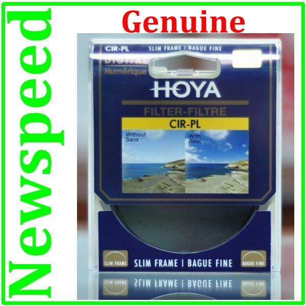 Genuine Hoya 62mm Digital Circular Polarizer Slim CPL Lens Filter