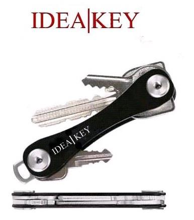 Genuine IdeaKey Keeper Portable Compact Car Key Holder Aluminum Pocket