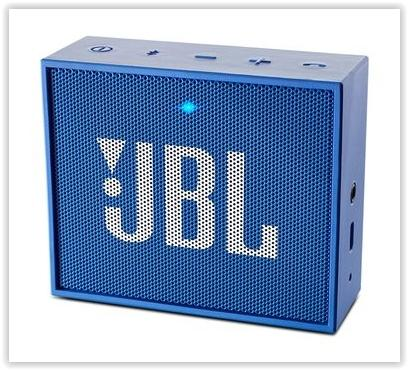 GENUINE JBL GO PORTABLE BLUETOOTH SPEAKER (BLUE)