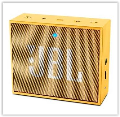 GENUINE JBL GO PORTABLE BLUETOOTH SPEAKER (YELLOW)