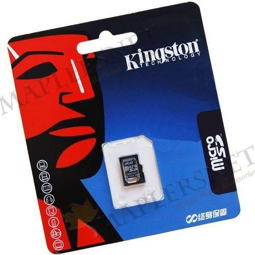 Genuine Kingston Micro Memory Card Adapter Retail Packing