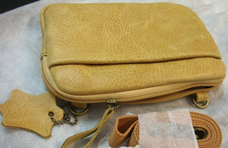 Genuine Leather Sling Bag/Waist Pouch (Dual Usage)~New