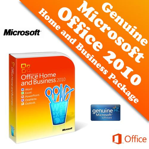 genuine microsoft office 2010 home a end 4 30 2018 3 15 pm. Black Bedroom Furniture Sets. Home Design Ideas