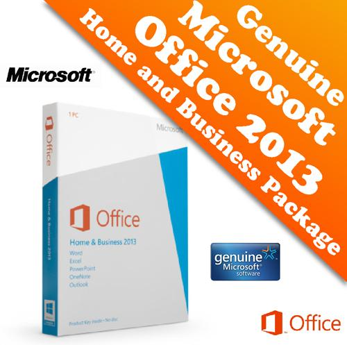 Genuine microsoft office 2013 home and business retail - Windows office home and business 2013 ...