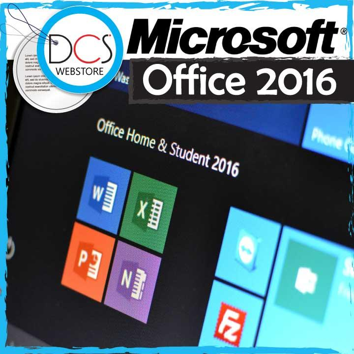 [GENUINE] Microsoft Office Home & Student 2016 32-BIT/X64 English DVD