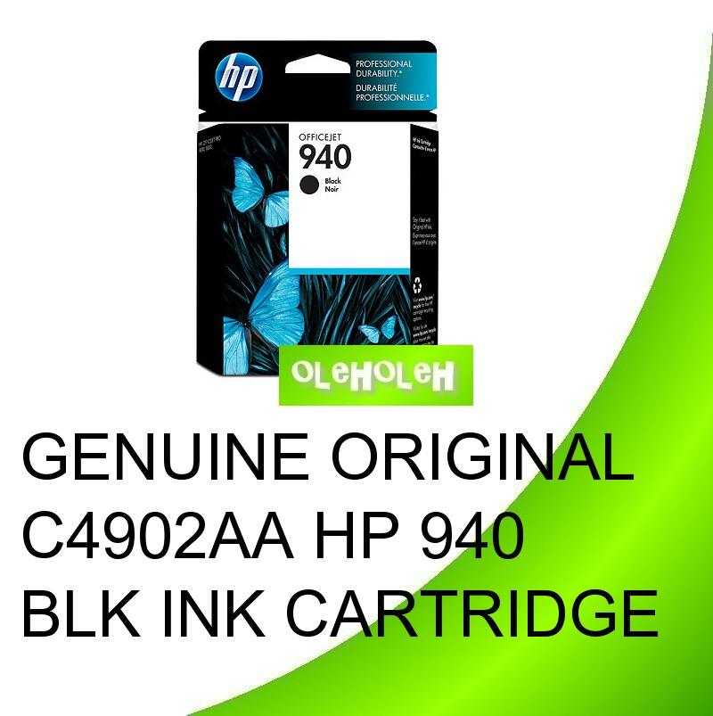Genuine Original C4902AA HP 940 Black Ink Cartridge