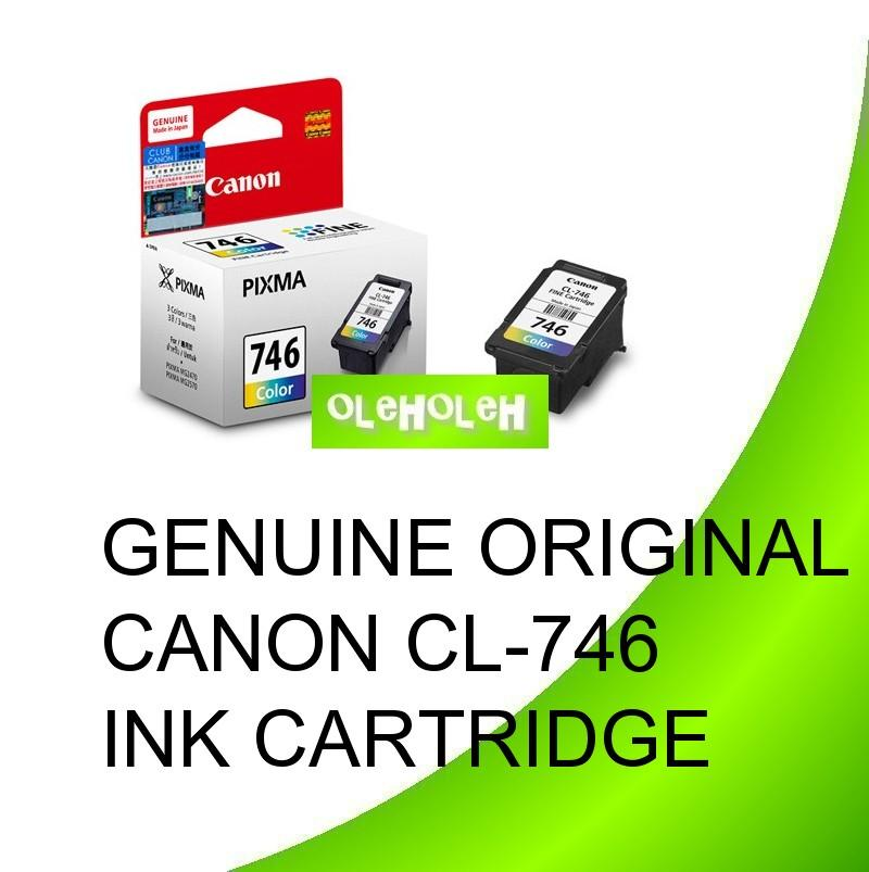 GENUINE ORIGINAL CANON CL-746 INK CARTRIDGE